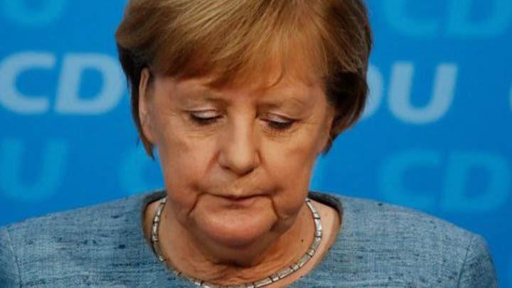 Angela Merkel export tedesco in declino