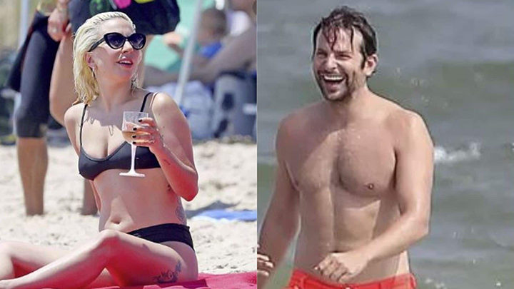 Bradley cooper in fuga d'amore con lady gaga