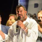 Salvini a Pescara annuncia 'Mi candido Premier'
