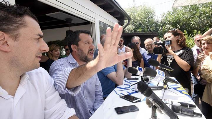 Salvini allude pedofilia