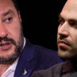Scontro tra Saviano e Salvini sui social: chi è peggio di chi?  La polemica.
