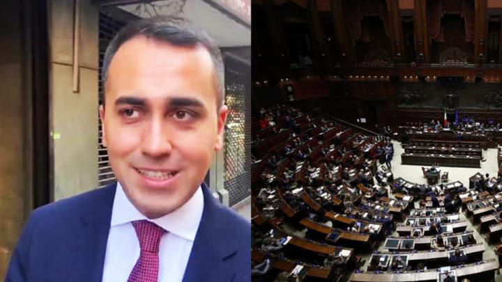di maio taglio dei parlamentari