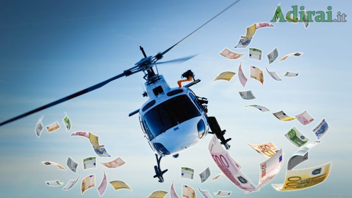 helicopter money mario draghi christine lagarde bce