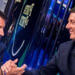 Porta a Porta ieri sera dibattito politico tra Salvini e Renzi
