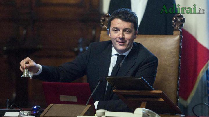 renzi al governo italia viva