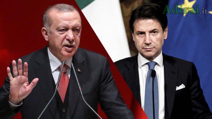 siria conte chiama erdogan telefonata