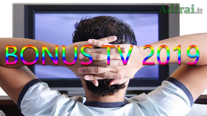 bonus tv 2019 chi come quanto richiedere requisiti isee importo