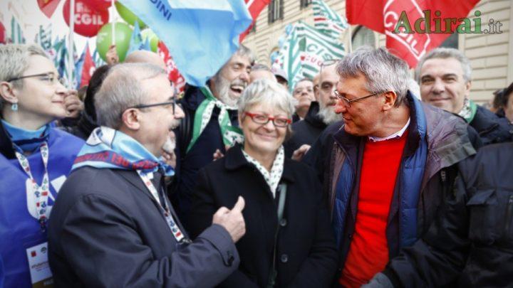 pensioni quota 62 proposta legge maurizio landini cgil