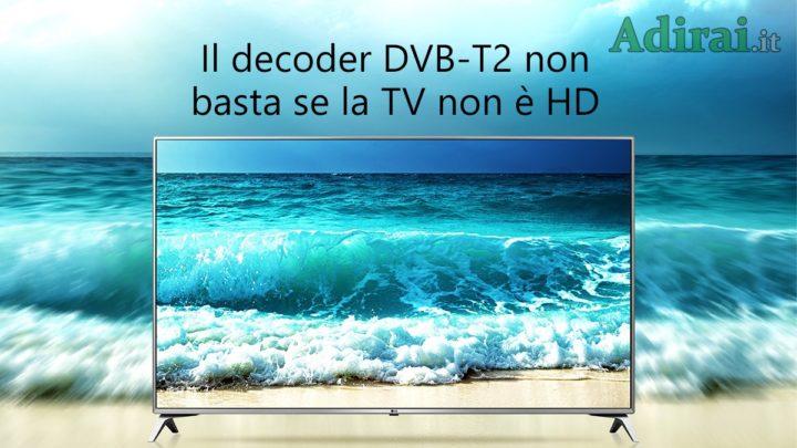 televisori e decoder dvb t2