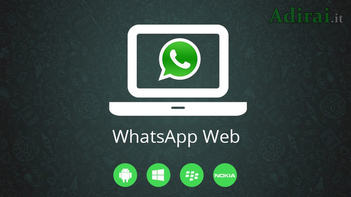 Whatsapp da Web su PC desktop o tablet