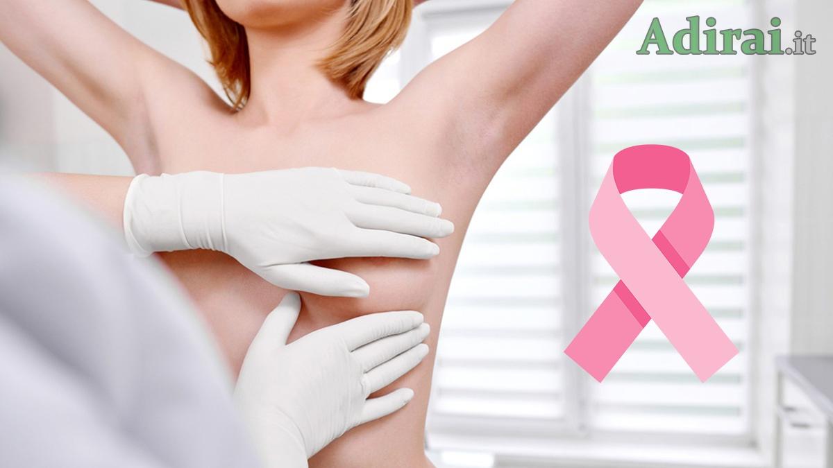cancro al seno presenza noduli alla mammella - cosa fare