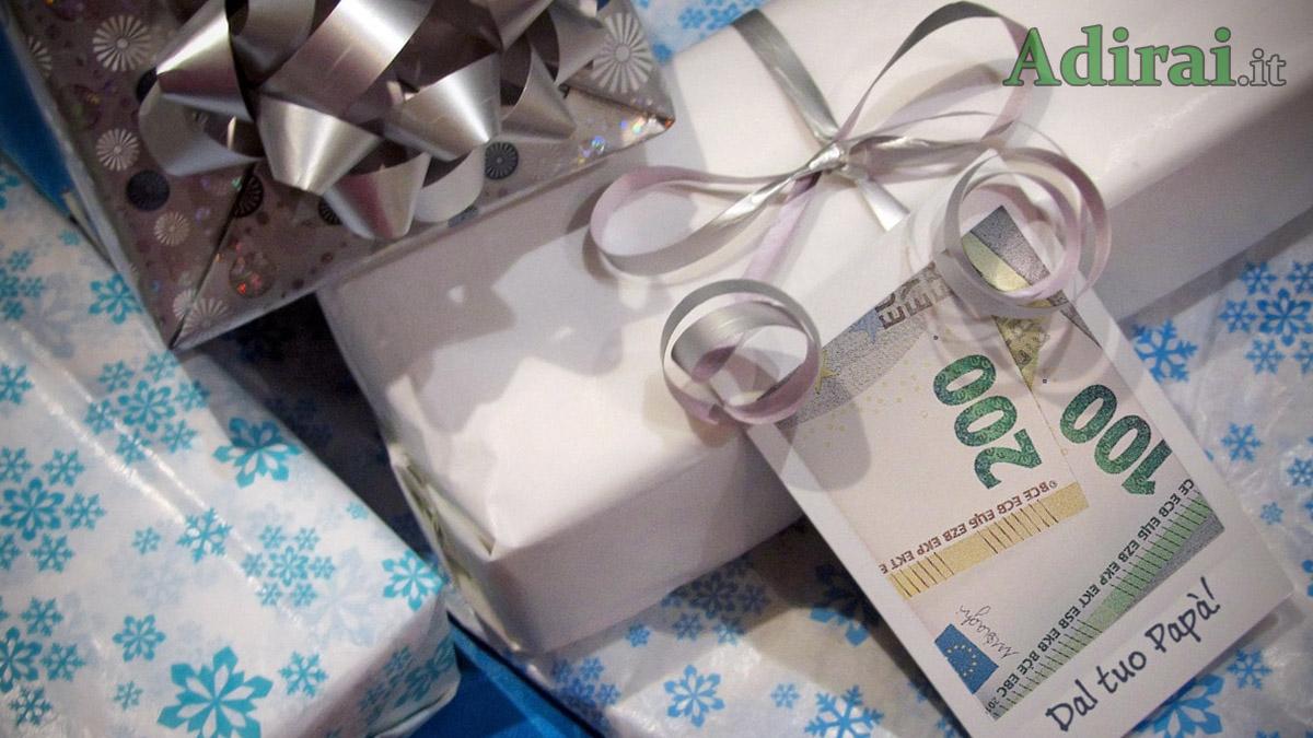 donazioni in denaro a figli e famigliari, tassazione