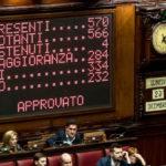 La manovra 2020 è legge: alla Camera 334 voti a favore