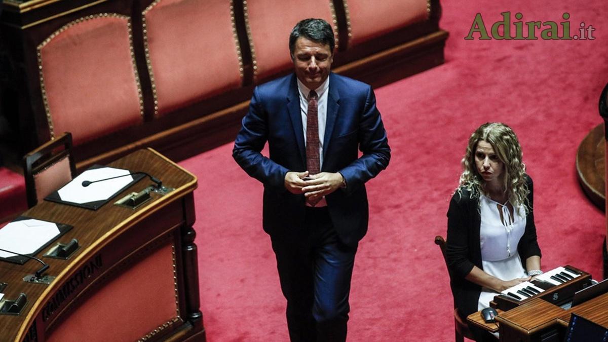 matteo renzi taglio dei parlamentari