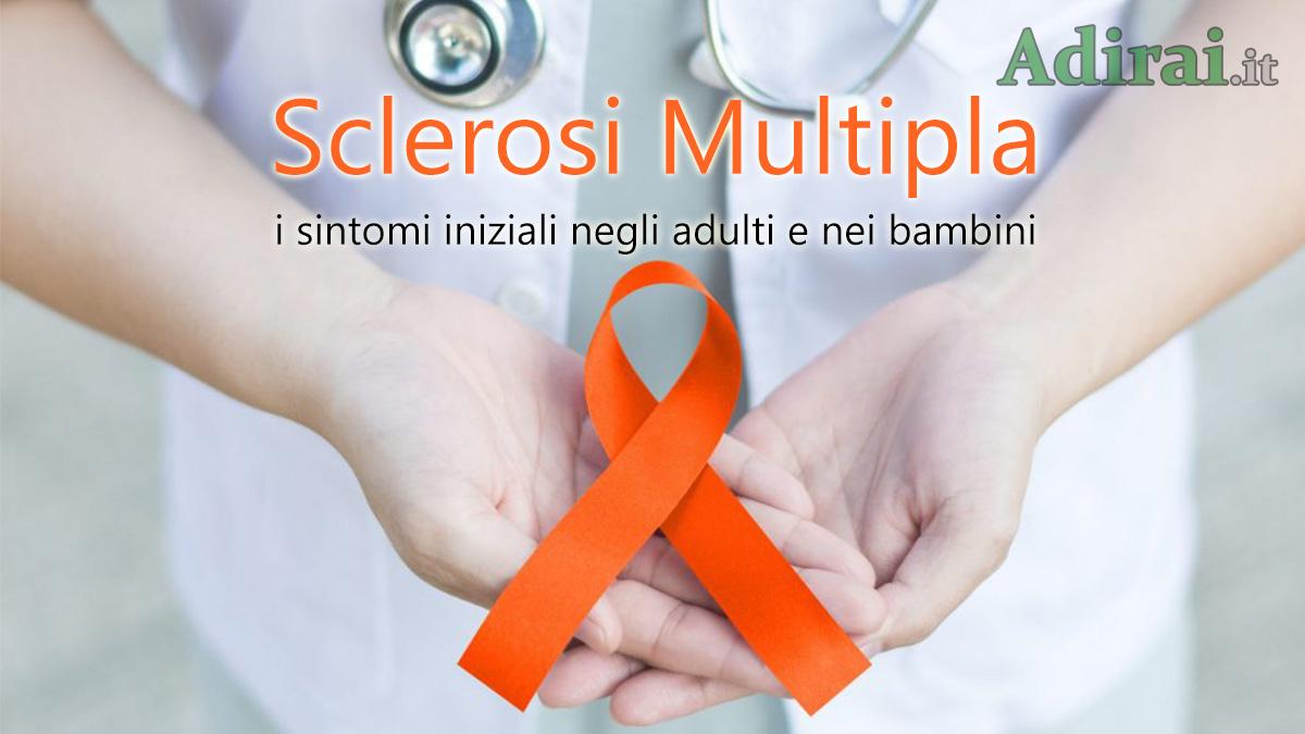 sintomi iniziali della sclerosi multipla