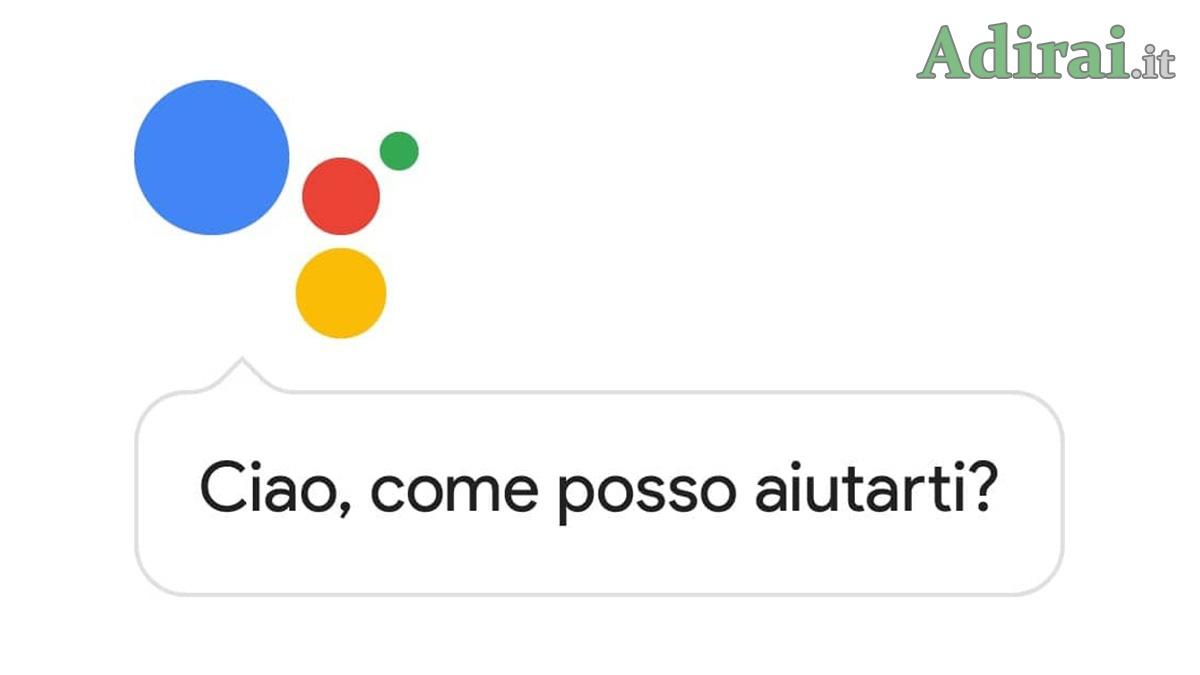 come cambiare voce assistente google