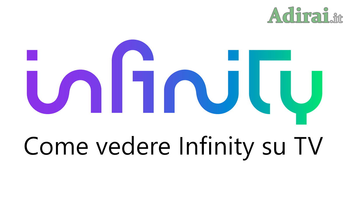 infinity tv logo mediaset streaming