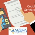 NoiPa cedolino stipendio gennaio 2020 con emissioni speciali