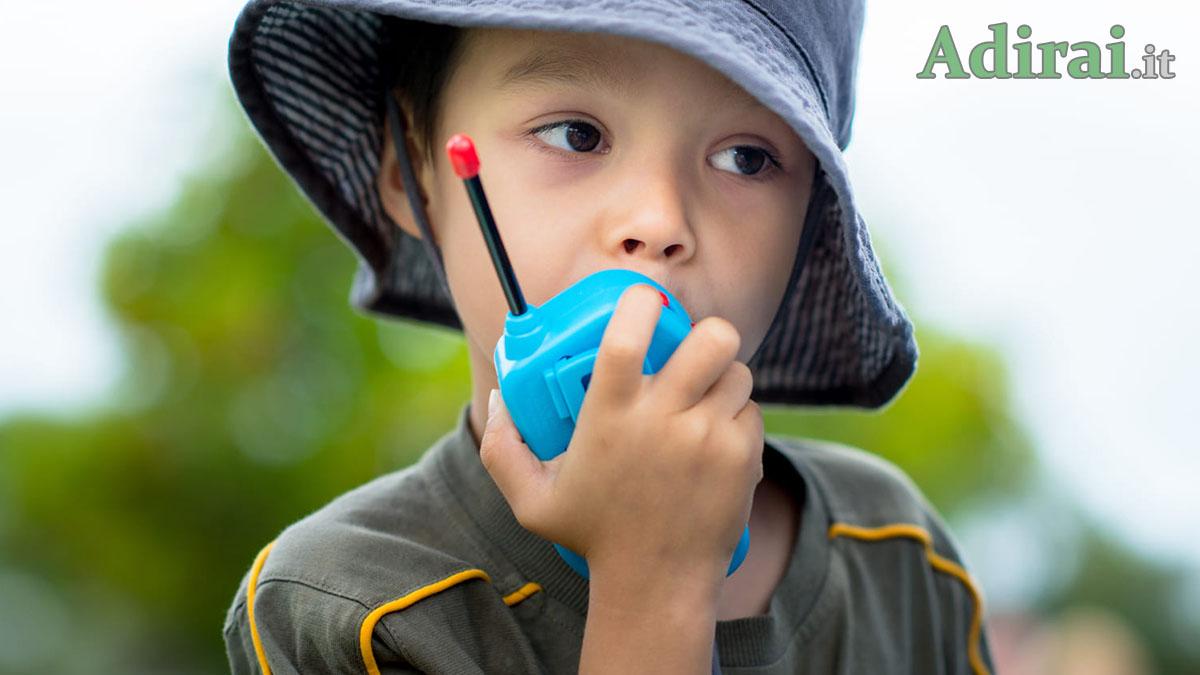 come comunicare con gli altri in caso di emergenza walkie talkie