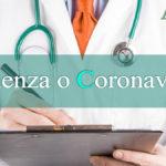 Febbre, raffreddore, tosse: Distinguere influenza e Coronavirus