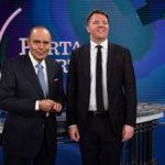 Renzi a Porta a Porta: Serve un Presidente del Consiglio eletto