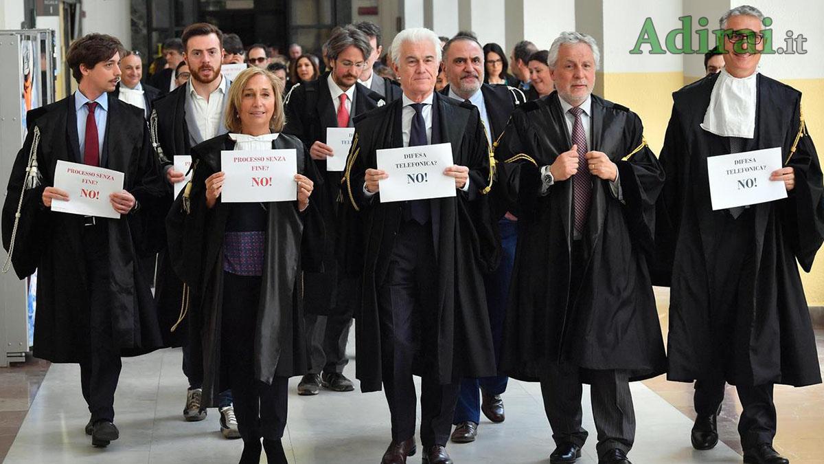riforma della prescrizione protesta degli avvocati