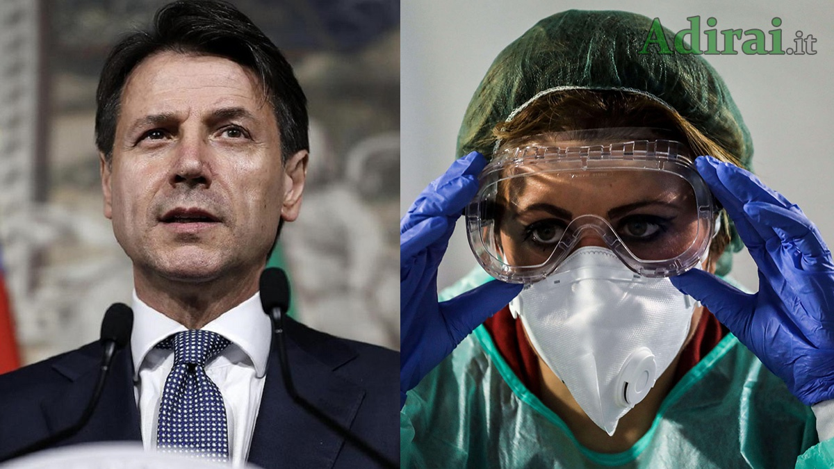 coronavirus sondaggi politici conte medici