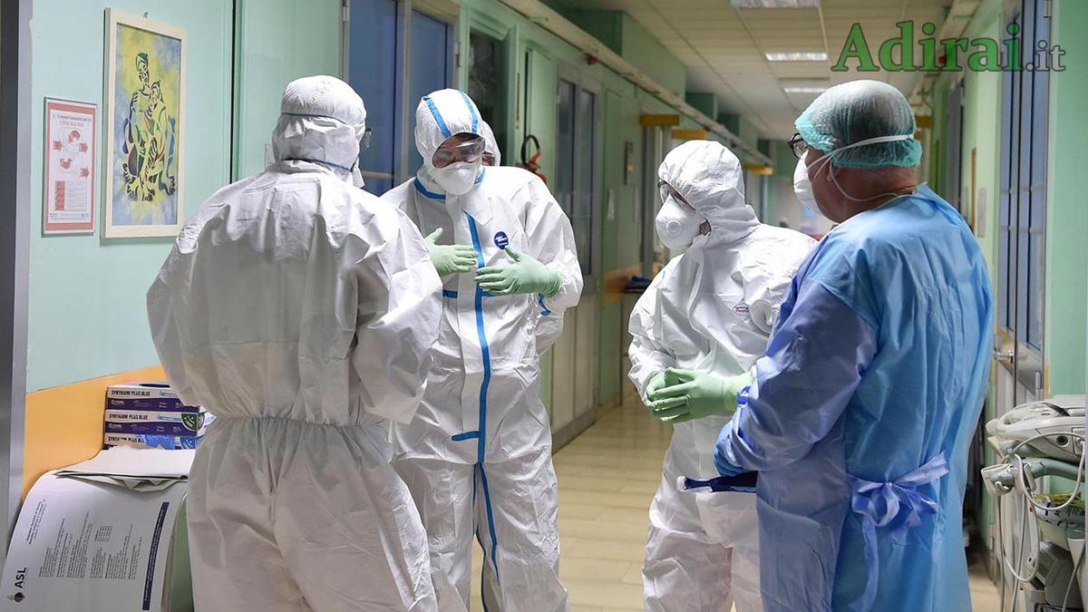 personale sanitario coronavirus italia
