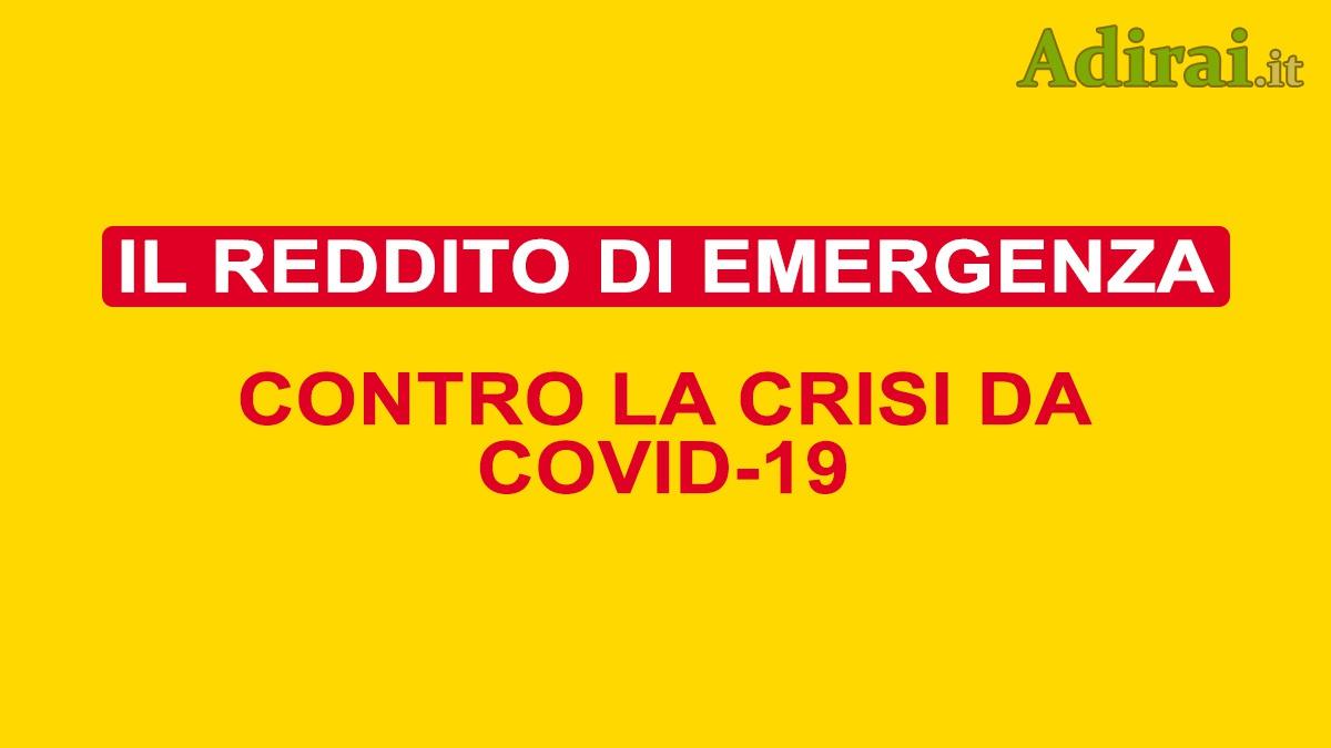 reddito di emergenza REM