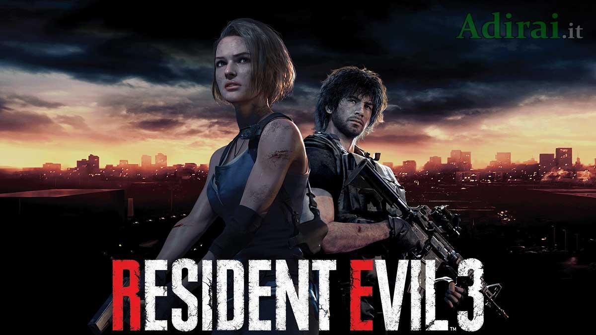resident evil 3 remake demo uscita