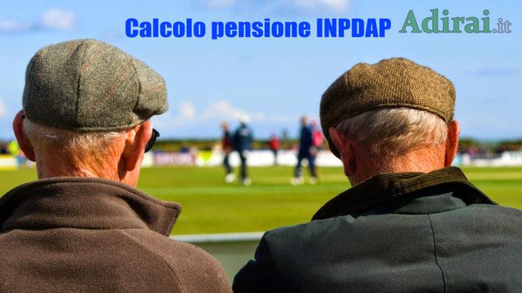 calcolo pensione inpdap