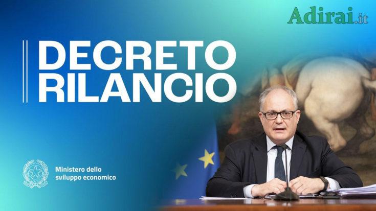 decreto rilancio Ecobonus del 110 per cento a fondo perduto in gazzetta ufficiale download pdf testo definitivo