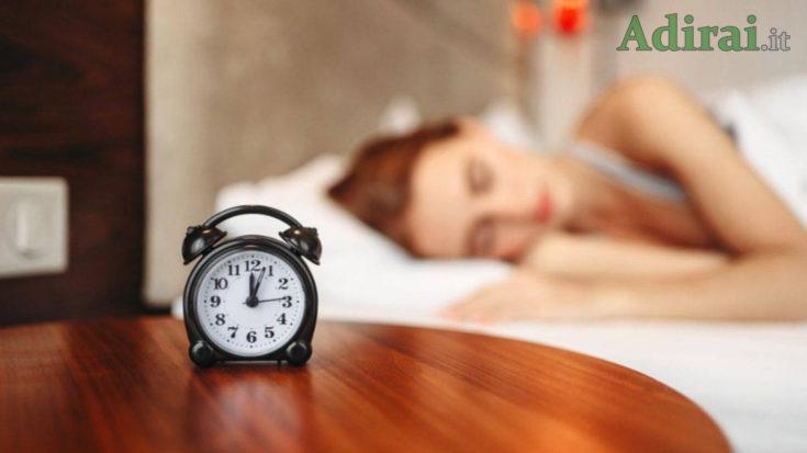 insonnia da fase 2 dormire male