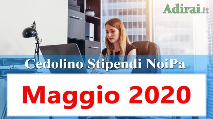 noipa cedolino maggio 2020 stipendi pa