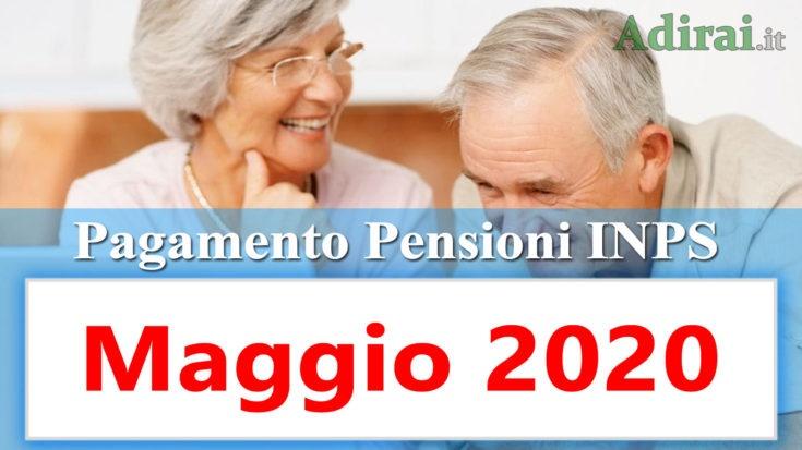 pagamento pensioni maggio 2020 calendario