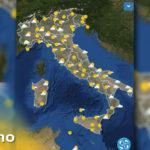 METEO 1 giugno DOMANI - Previsioni del tempo, venti e mari