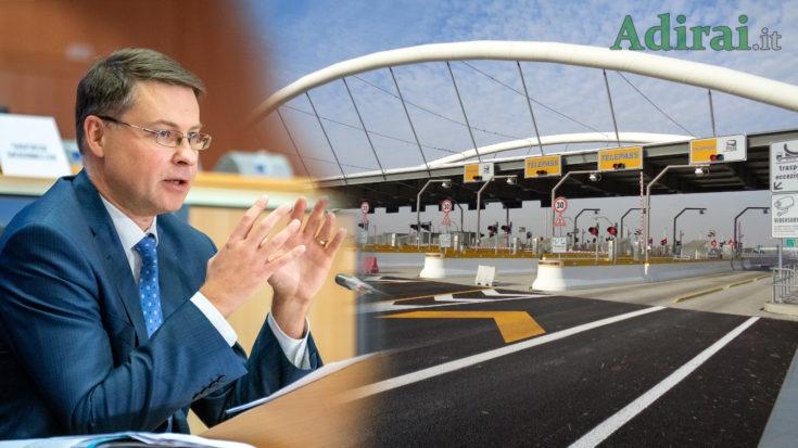 atlantia commissione ue autostrade governo conte discriminatorio