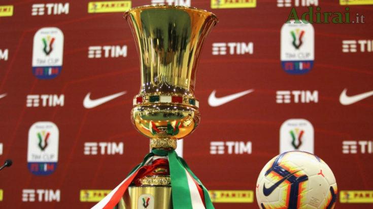 coppa italia supplementari semifinali finale regolamento
