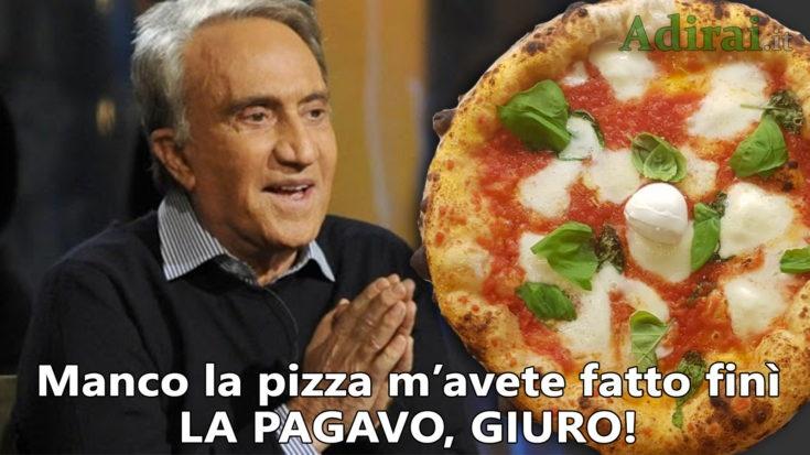 emilio fede arresto a napoli pizza