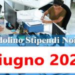 NoiPa cedolino Giugno 2020 data accredito stipendi PA