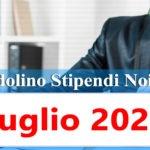 NoiPa cedolino Luglio 2020 data accredito stipendi PA