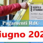 Reddito di cittadinanza pagamento Giugno 2020 ricarica RdC