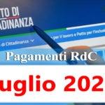 Reddito di cittadinanza Pagamento Luglio 2020 ricarica RdC