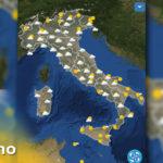 METEO 2 giugno DOMANI - Previsioni del tempo, venti e mari