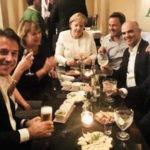 Conte, Merkel e Macron al bar confessano: tutti contro Rutte