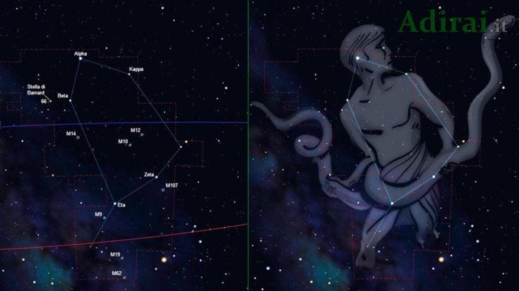ofiuco costellazione nuovo segno zodiacale nasa