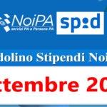 NoiPa cedolino Settembre 2020 data accredito stipendi PA e novità