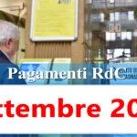 Reddito di cittadinanza Pagamento Settembre 2020 ricarica RdC