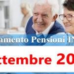 Pagamento pensioni settembre 2020 in anticipo Calendario accredito Inps