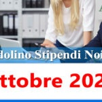 NoiPa cedolino Ottobre 2020 data accredito stipendi PA